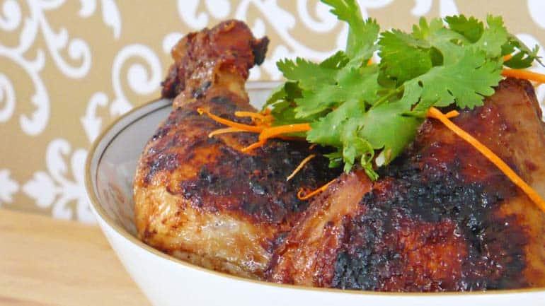 Vietnamese kip gegrilde 5-kruiden kip