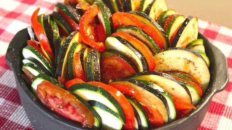 Groenten ovenschotel
