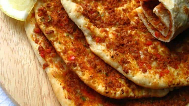 Turkse pizza met gehakt