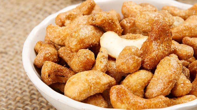 Geroosterde cashewnoten zelf maken
