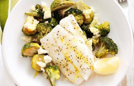 Tilapiafilets met broccoli