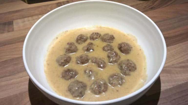 Zweedse gehaktballetjes in saus