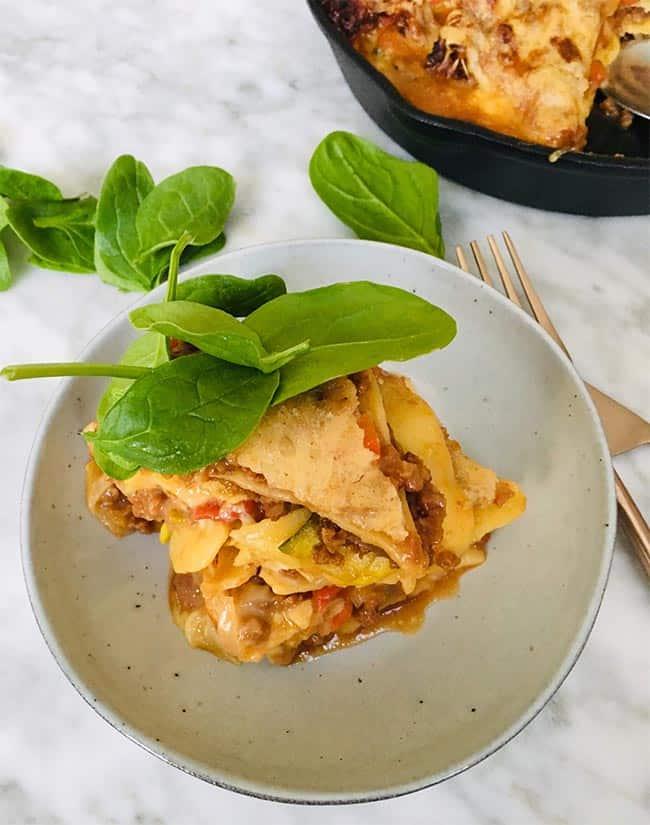 Lasagne bolognese simpel recept