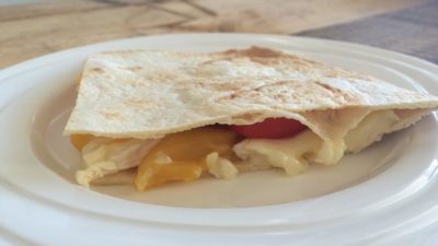 Wraps met mango en brie