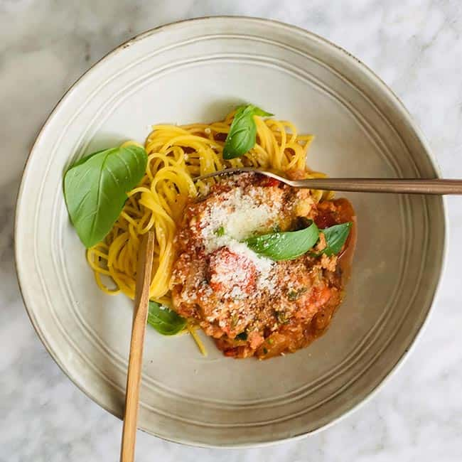 Spaghetti bolognese recept simpel