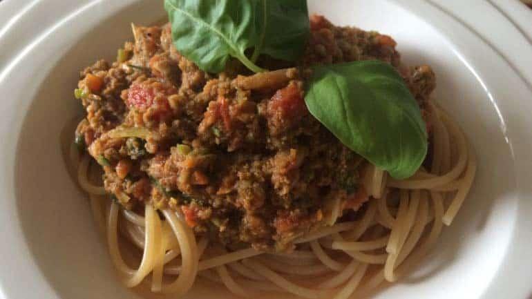 Spaghetti bolognese het originele recept