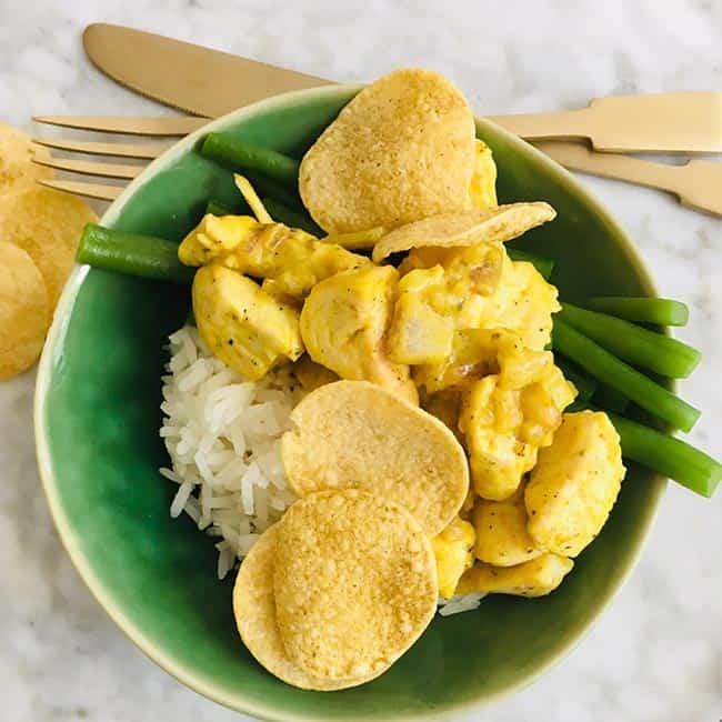 Kip met kerrie en kokos simpel recept