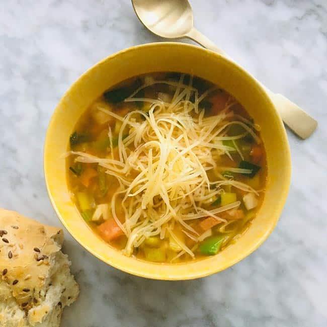 Herfst groentensoep simpel recept