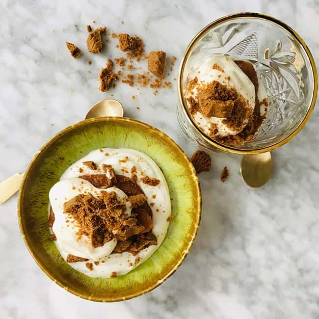 Appel kwark dessert simpel recept