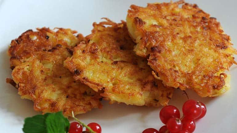 Duitse aardappelkoekjes