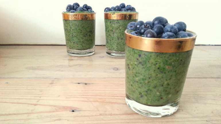 Groene boerenkool smoothie