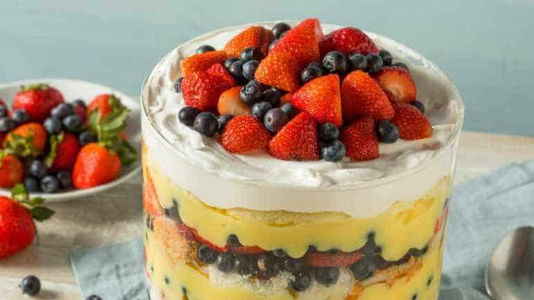 Trifle recept met cake