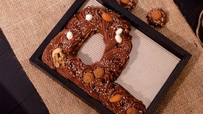 Chocoladeletter zelf maken recept