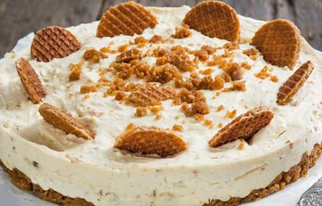Stroopwafel cheesecake recept