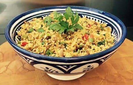 Couscous-met-gehakt recept