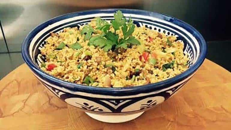 Couscous met gehakt en italiaanse groente