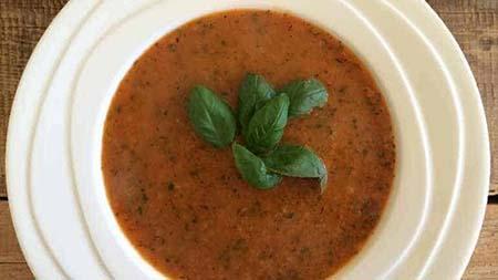 Paprika tomatensoep recept simpel