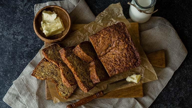 Gezonde ontbijtcake met pecannoten recept