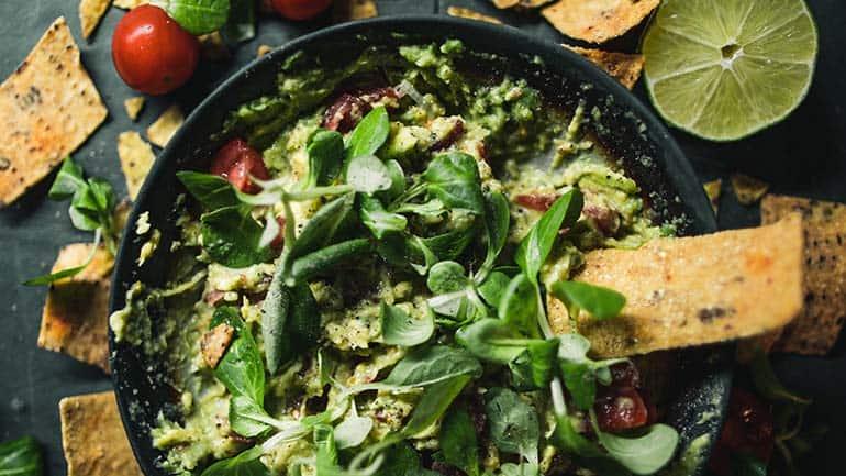 Guacamole maken recept