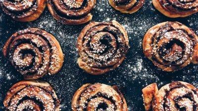 Kaneelbroodjes Cinnamon rolls