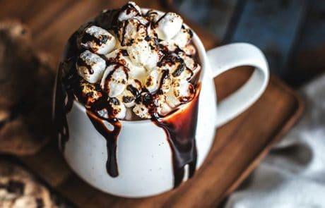 Warme chocolademelk zelf maken