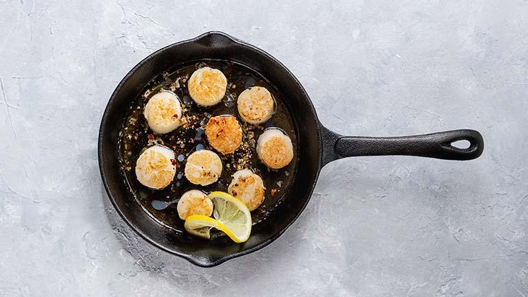 Coquilles recept met citroen
