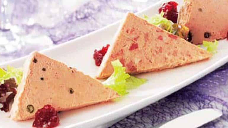 Paté met cranberrycompote