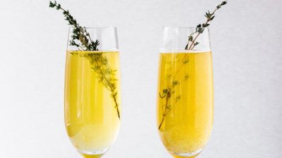 Bellini cocktail recept