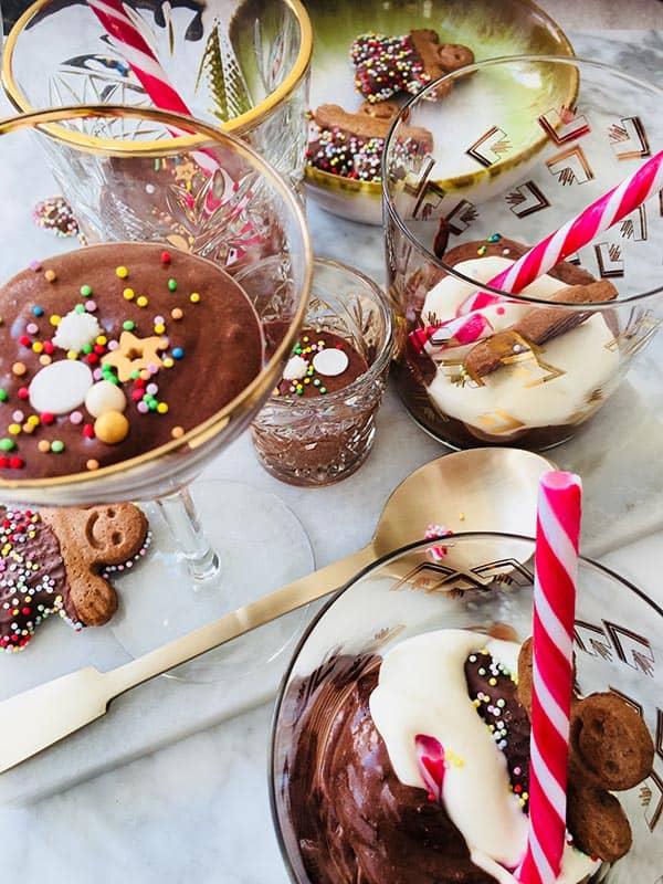 Chocolademousse voor de kerst recept