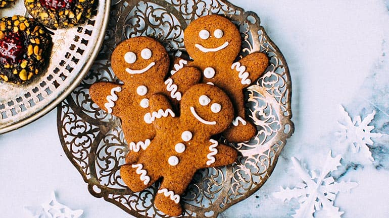 Gingerbread mannetjes