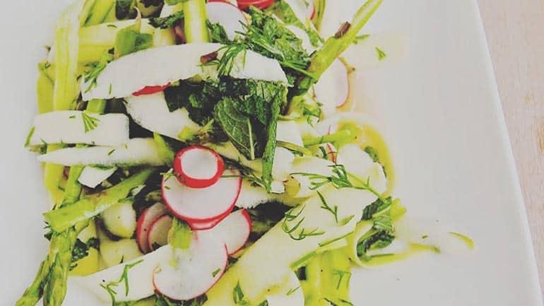 Rauwe lentesalade