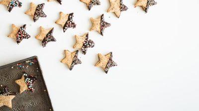 Simpele kerstkoekjes recept