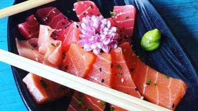 Vegan sashimi