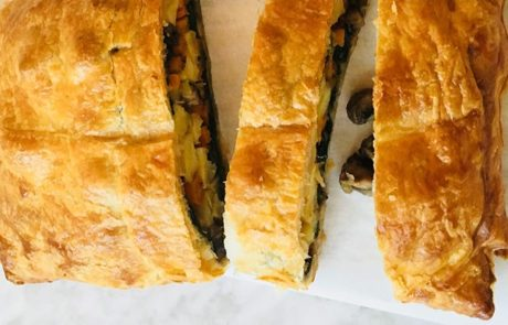 Vegetarische wellington recept