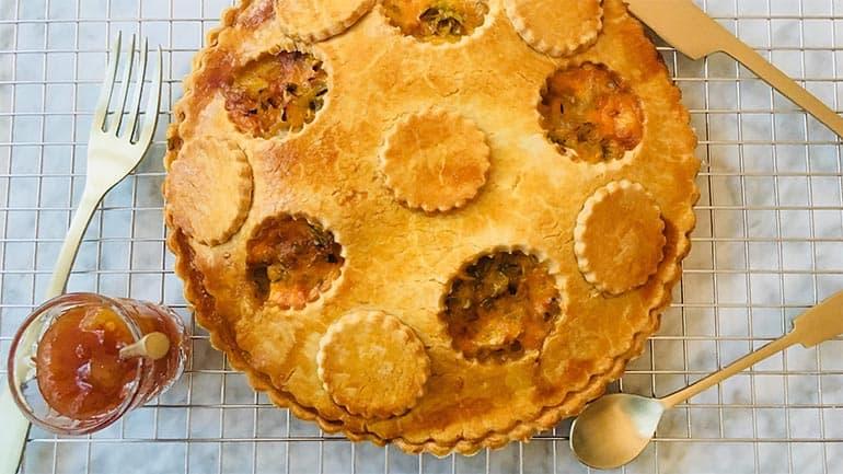Kaas uientaart Yvette van Boven recept