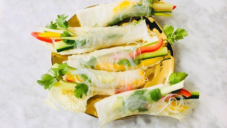 Springroll simpel recept