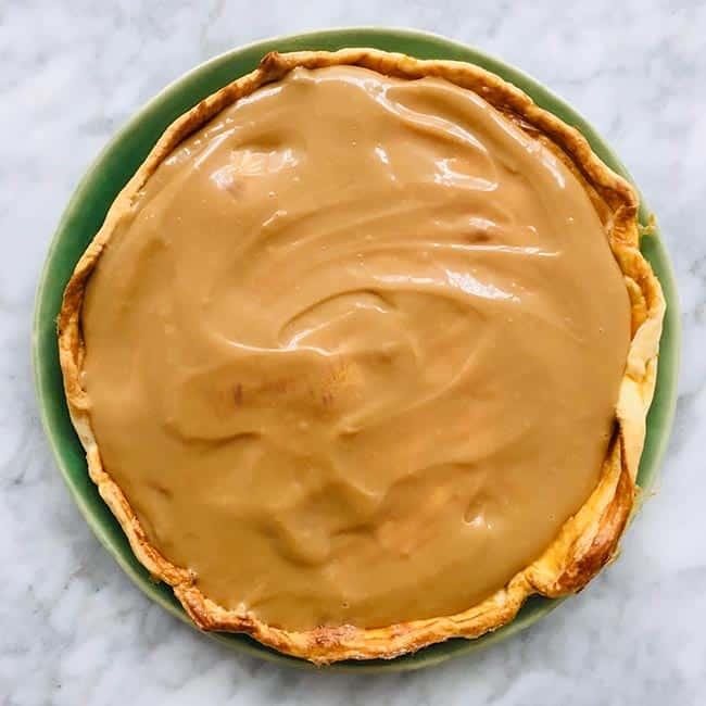 Banoffee pie voorbereiding