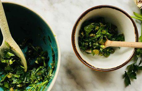 Salsa verde recept