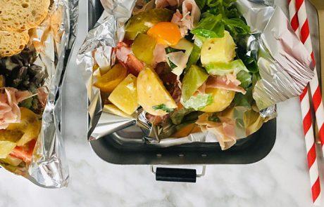 Aardappelsalade met ham recept