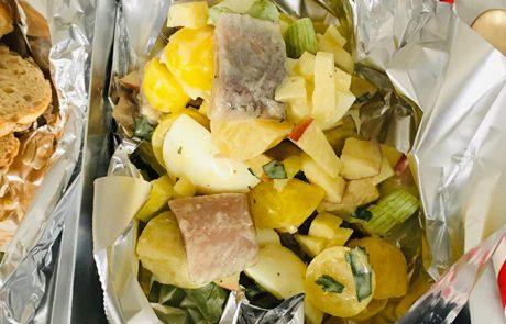 Aardappelsalade met haring