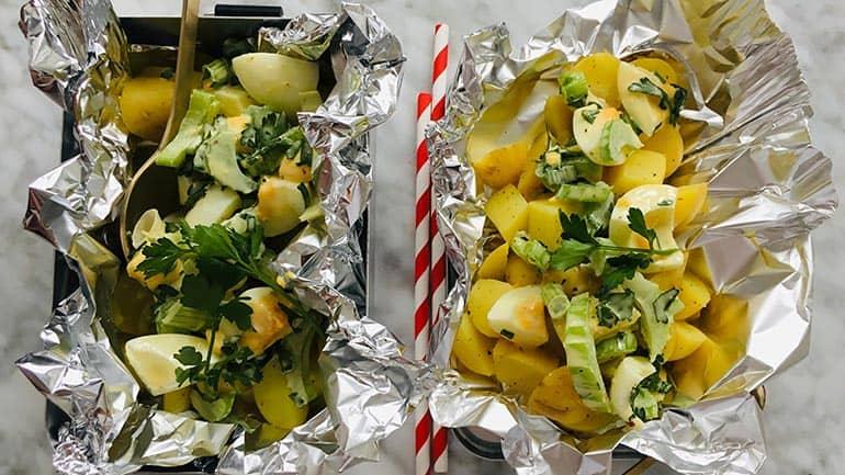 Frisse aardappelsalade recept