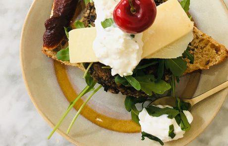 Vegaburger recept van champignons en kikkererwten
