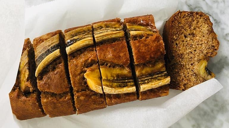 Bananenbrood zonder suiker een simpel recept