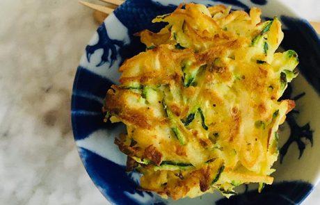 Aardappel courgettekoekjes recept