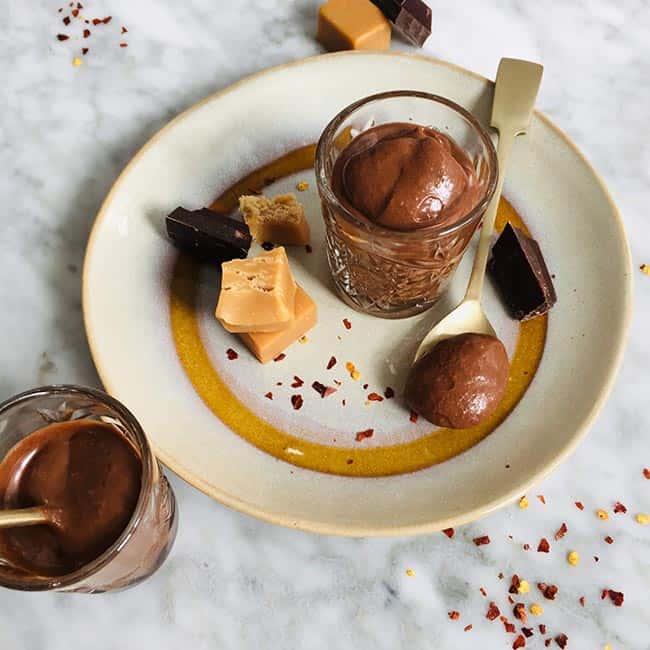 Chocolademousse met peper recept