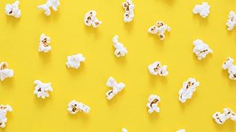 Popcorn voor bij de film