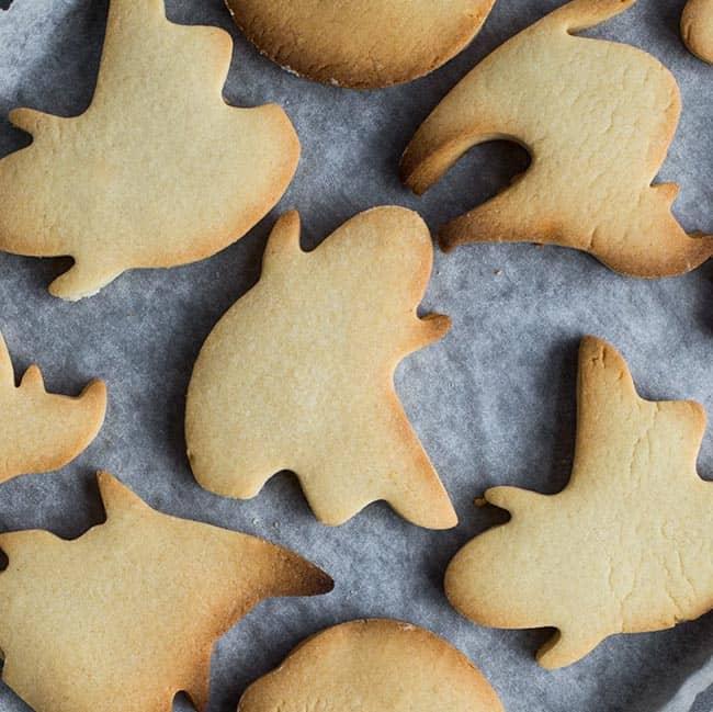 Halloween koekjes maken recept