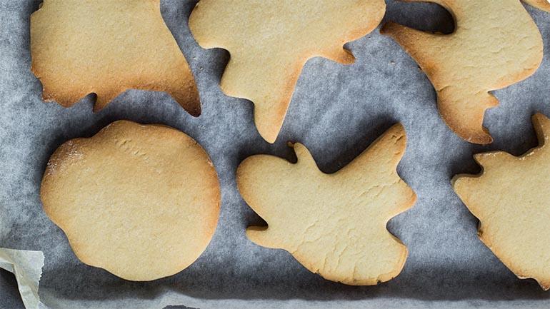 Halloween koekjes maken