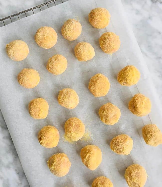 Pompoen bitterballen simpel recept