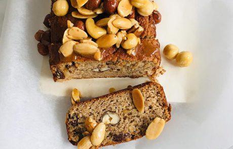 Bananenbrood met noten recept